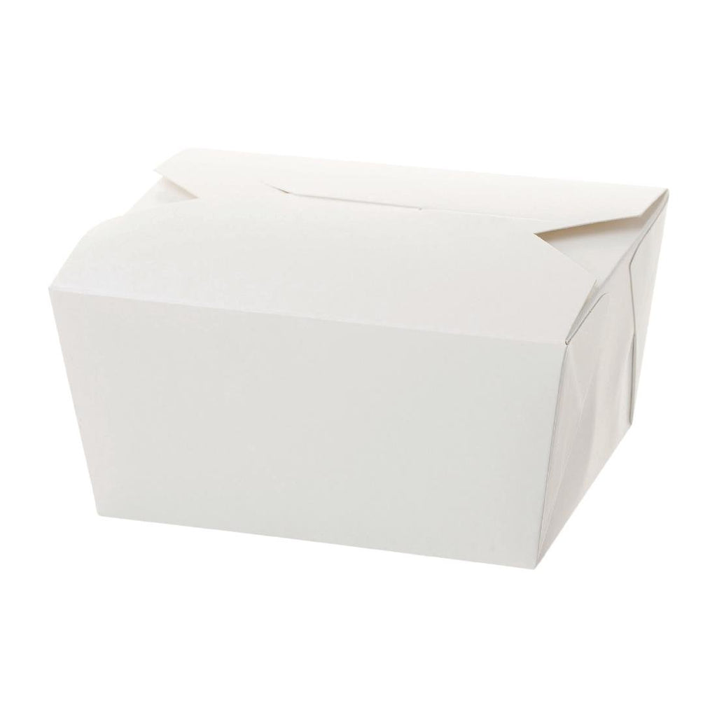 250PCE Sealpak Small Rectangular Meal Pail White