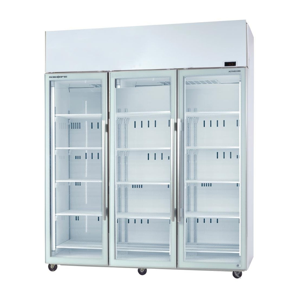 Skope ActiveCore Triple Glass Door Display Fridge TME1500 A
