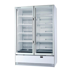 Skope ActiveCore Double Glass Door Display Fridge BME1200 A - ICE Group