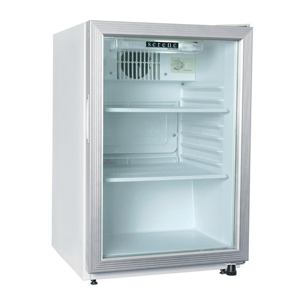 Skope HB80 2 Single Glass Door Compact Display Fridge