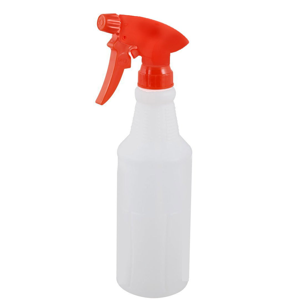 500ml Red Plastic Straight Spray Bottle Complete NB70S-R
