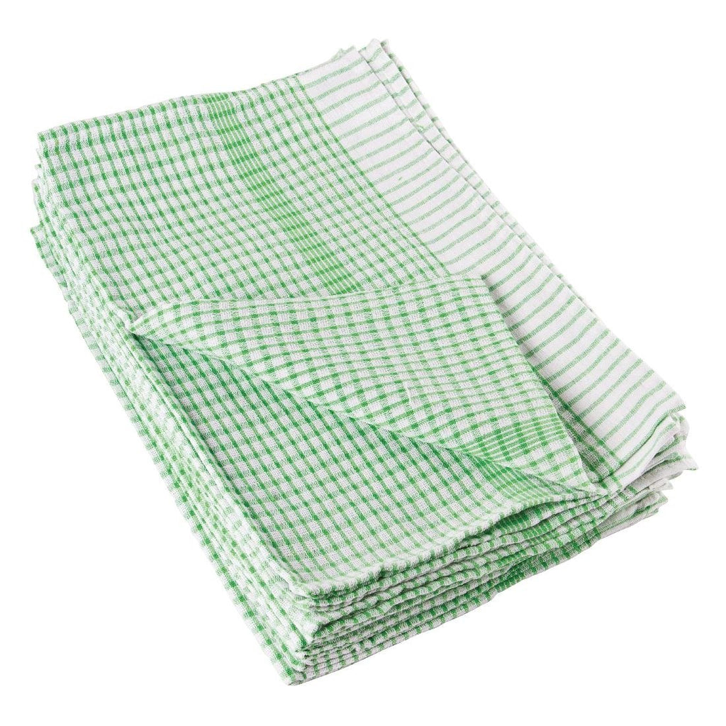 10PCE Vogue Wonderdry Green Tea Towels