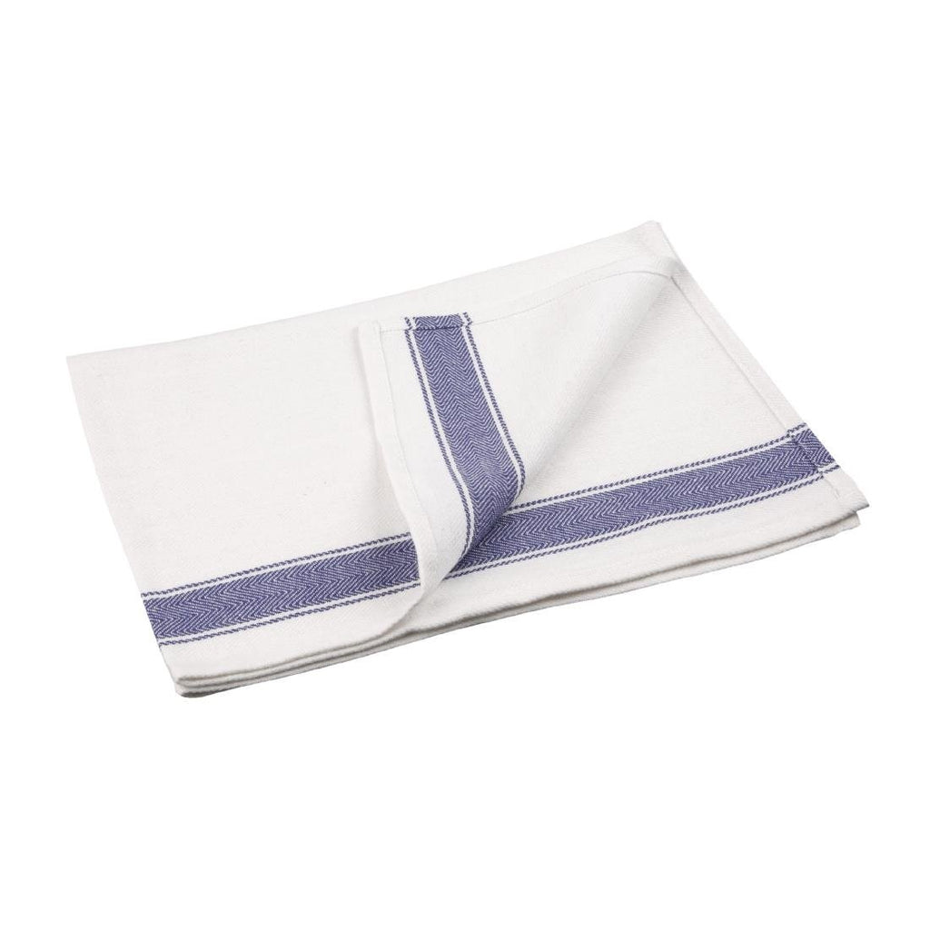 Vogue Heavy Blue Single Tea Towel