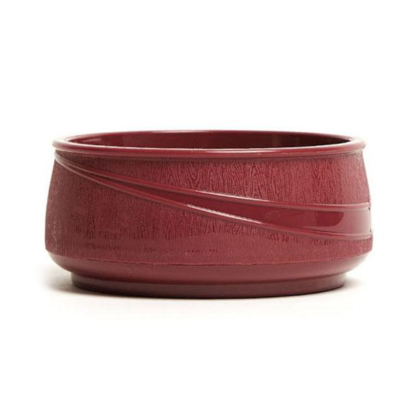 12PCE Ken Hands Moderne Soup Bowl Insulated Burgundy (36) 98072