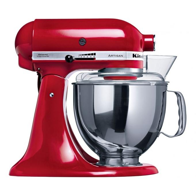 KitchenAid Domestic KSM150 Artisan Stand Mixer - Empire Red