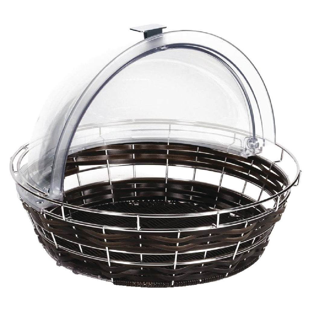 APS Polyratten Basket with Frame Round