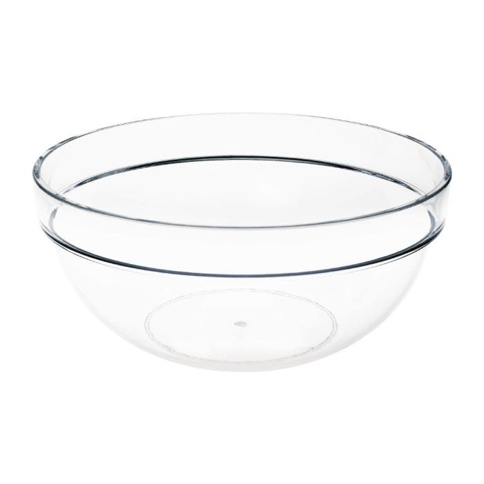 Vogue Polycarbonate Chef Bowl 1 1/4Ltr