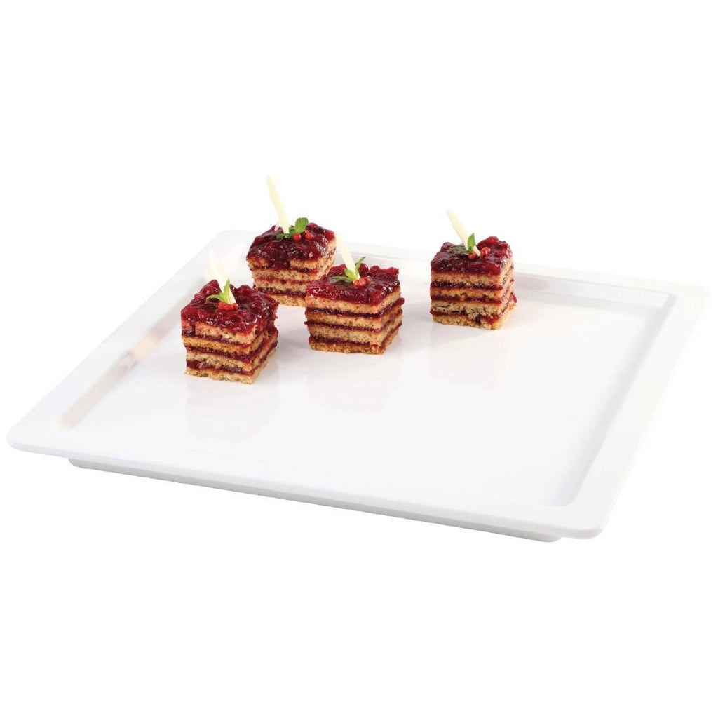 APS Apart Square Melamine Tray 230 x 230mm