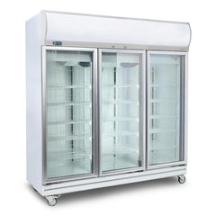 Bromic 1507L LED 3 Glass Door Upright Display Chiller GD1500LF