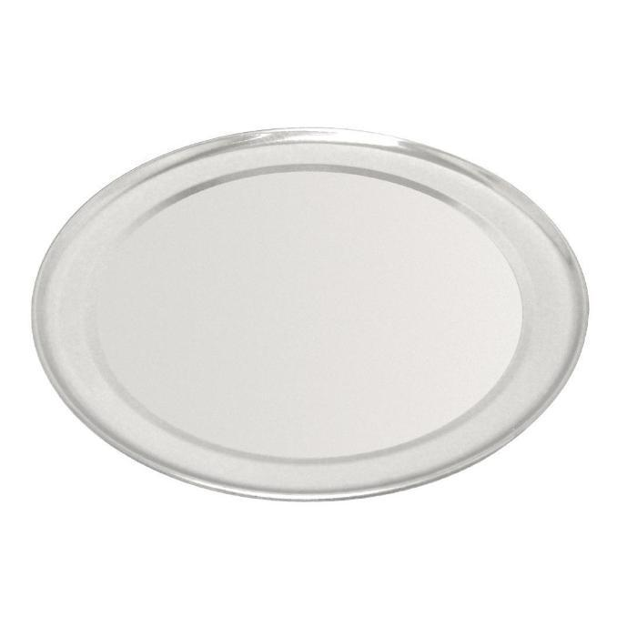 Vogue Aluminium Pizza Tray Wide Rim 200mm
