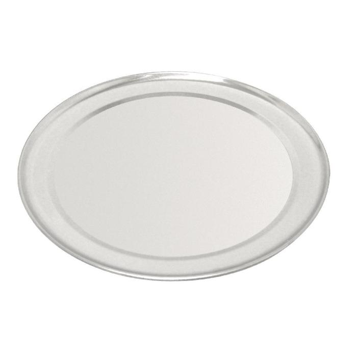 405mm Vogue Aluminium Pizza Tray Wide Rim