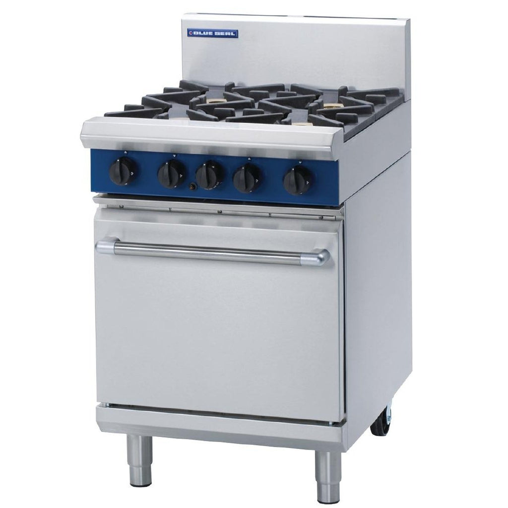 Blue Seal by Moffat 4 Burner Oven Range G504D NG