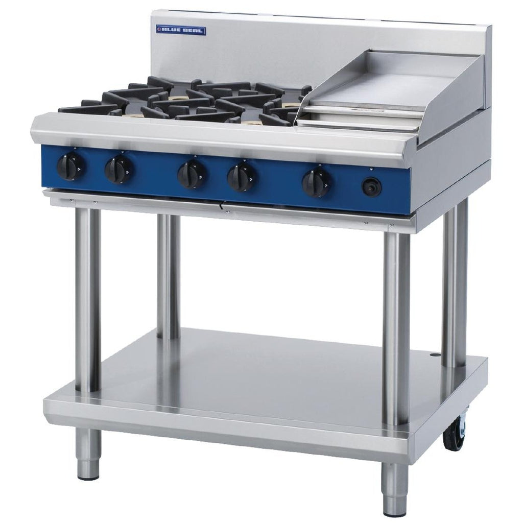 Blue Seal by Moffat 4 Burner Cooktop with Griddle NG