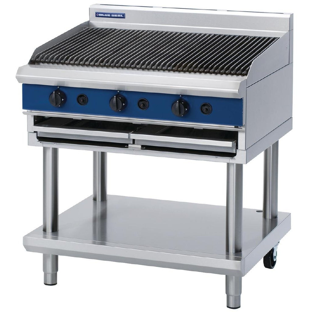 Blue Seal by Moffat Natural Gas Char Grill G596-LS