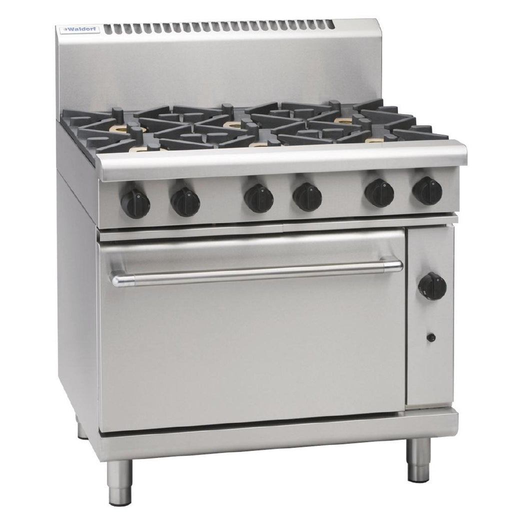 Waldorf by Moffat 6 Burner Propane Gas Convection Oven RN8610G