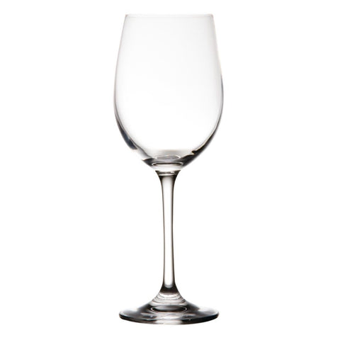 6PCE Olympia Modale Crystal Wine Glasses 395ml