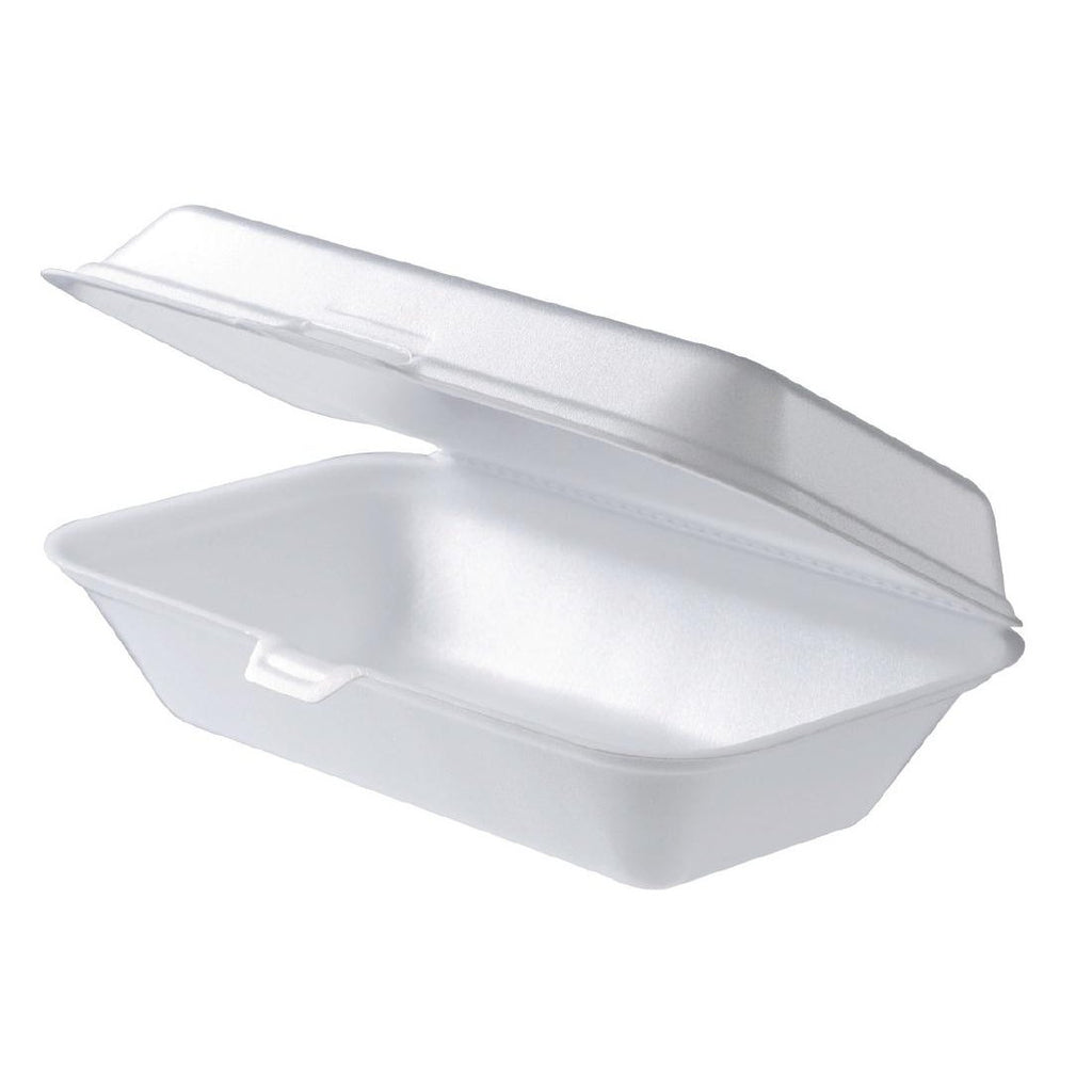100PCE Foam Fast Food Containers