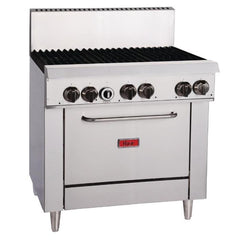Thor 6 Burner Natural Gas Oven Range TR-6F - icegroup hospitality superstore