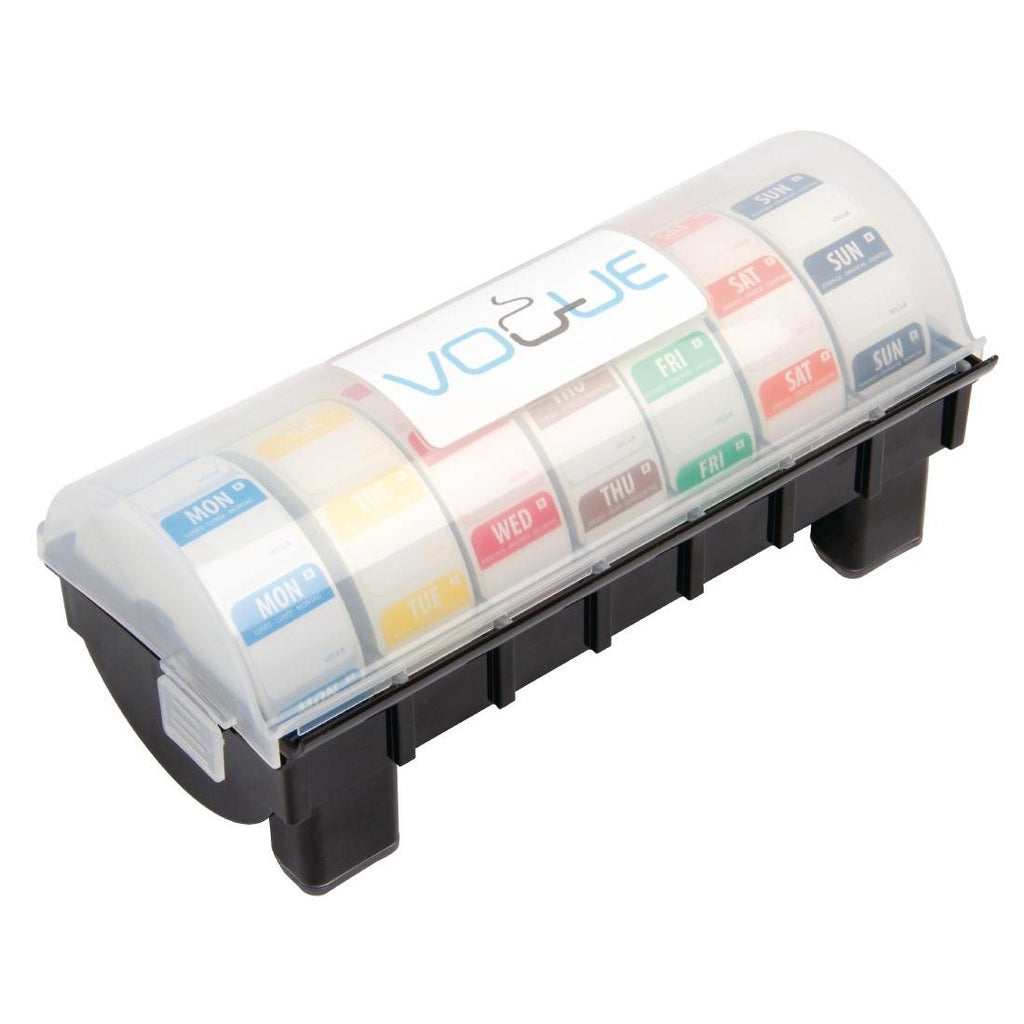 Removable Colour Coded Food Labels with 1 Dispenser - ICE Group