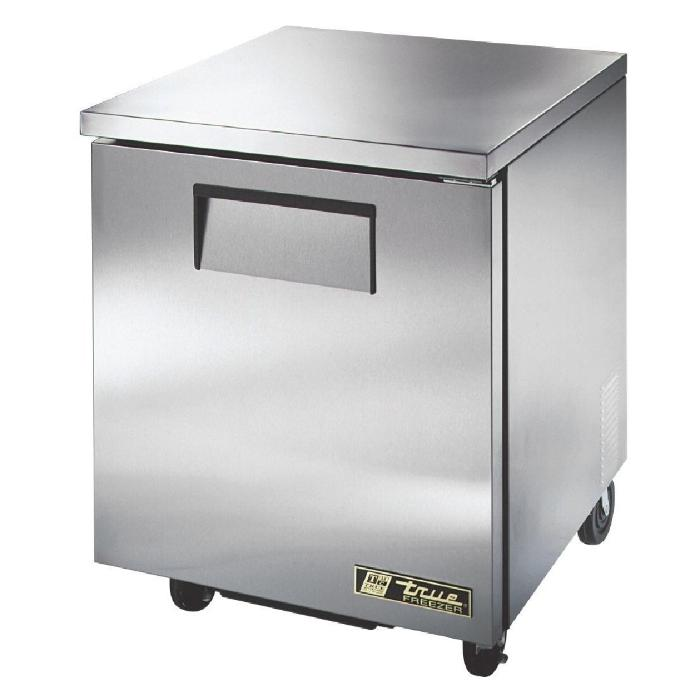 True Undercounter Freezer 1 Door Stainless Steel