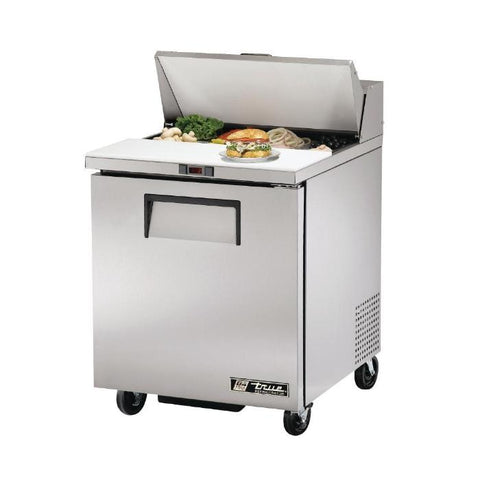True Salad Prep Counter Stainless Steel