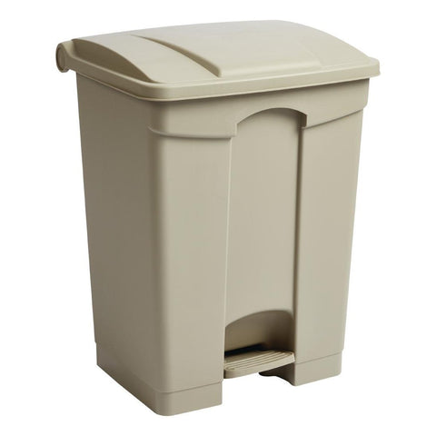 Jantex Step On Bin Beige 65Ltr