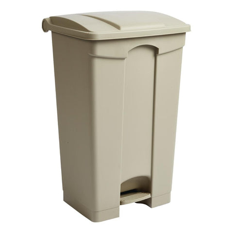 Jantex Step On Bin Beige 87Ltr