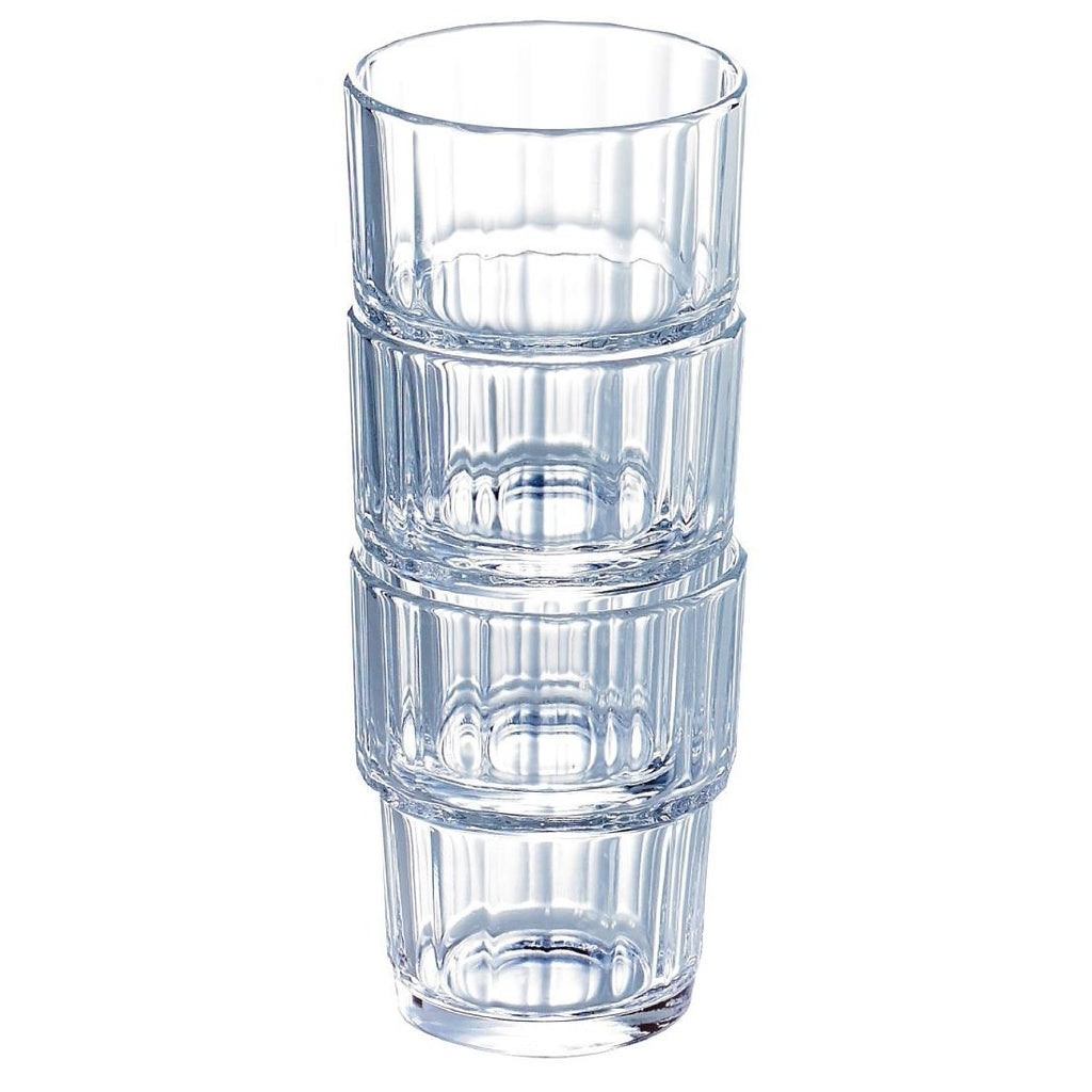 72PCE Arcoroc Norvege Old Fashioned Tumblers 270ml