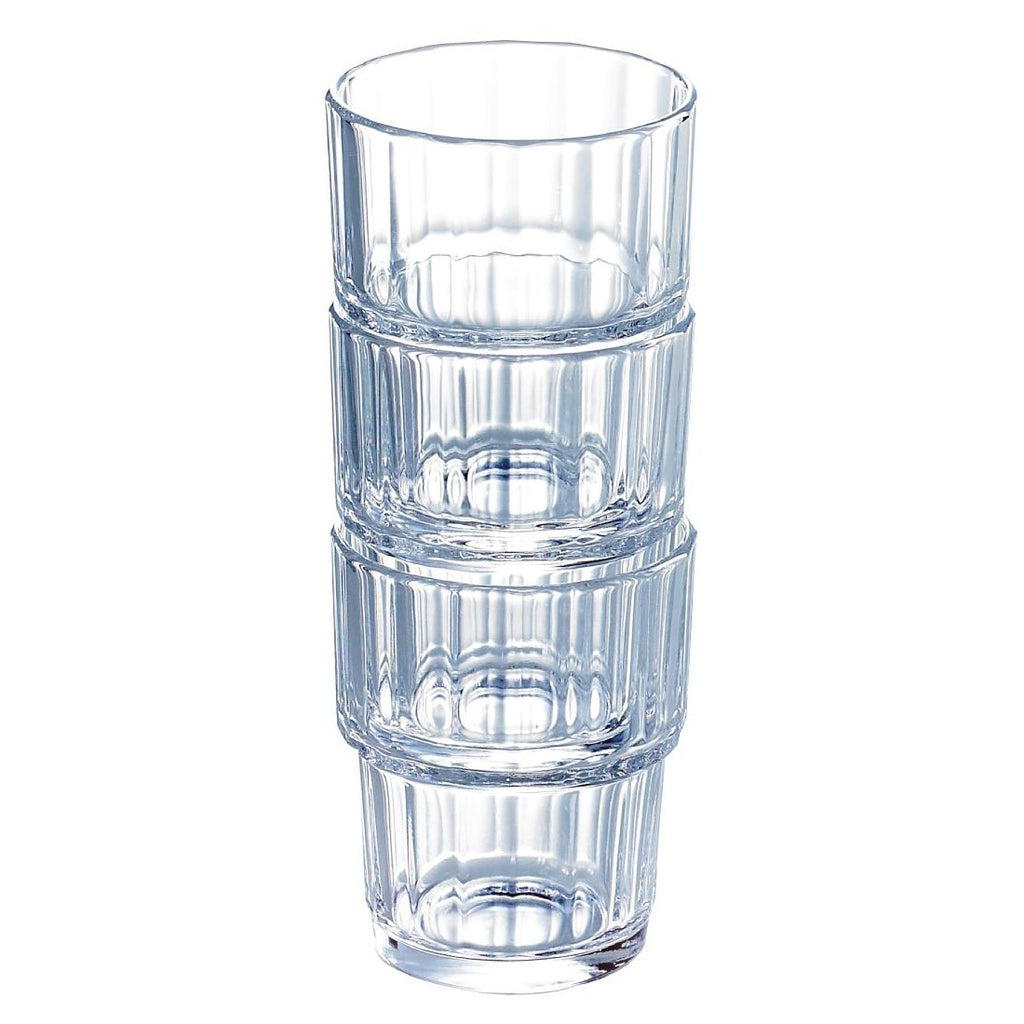 72PCE Arcoroc Norvege Old Fashioned Tumblers 200ml