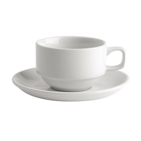 36PCE Australian Fine China Bistro Tea Saucers 150mm
