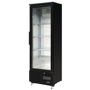 Polar 307L Upright Back Bar Cooler Single Door - ICE Group