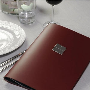 DAG Bordeaux A4 Fashion Menu Holder