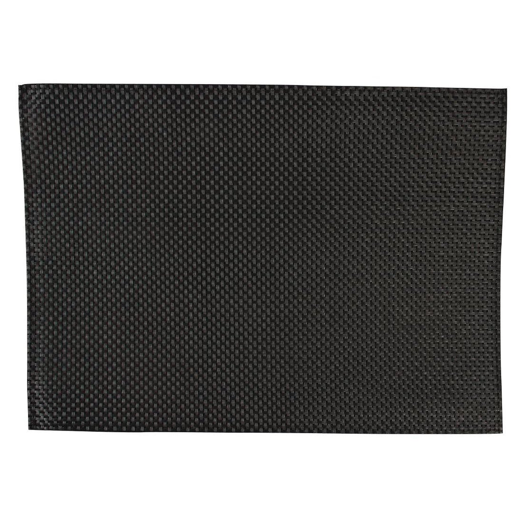 APS PVC Black Placemat