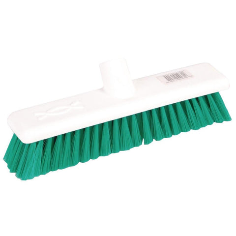 Jantex Soft Hygiene Broom Green 300mm