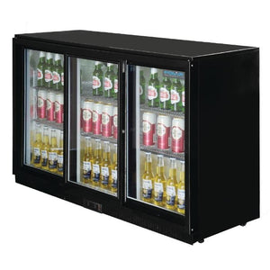 Polar G-Series 330L Back Bar Cooler with Sliding Doors