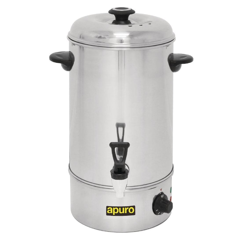 Apuro Manual Fill Hot Water Urn 10Ltr
