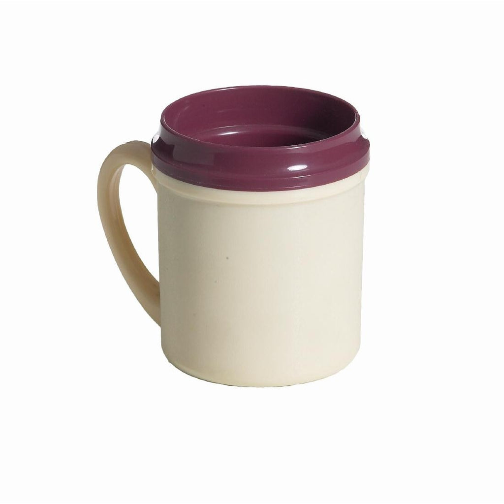 Beverage Mug Insulated PP 250ml Yellow