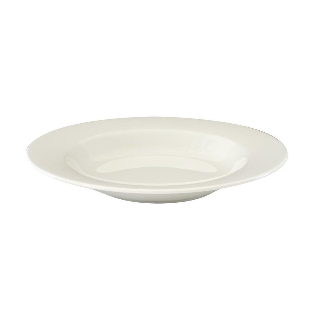 12PCE Australian Fine China Flinders Contemporary Pasta Plate 280mm