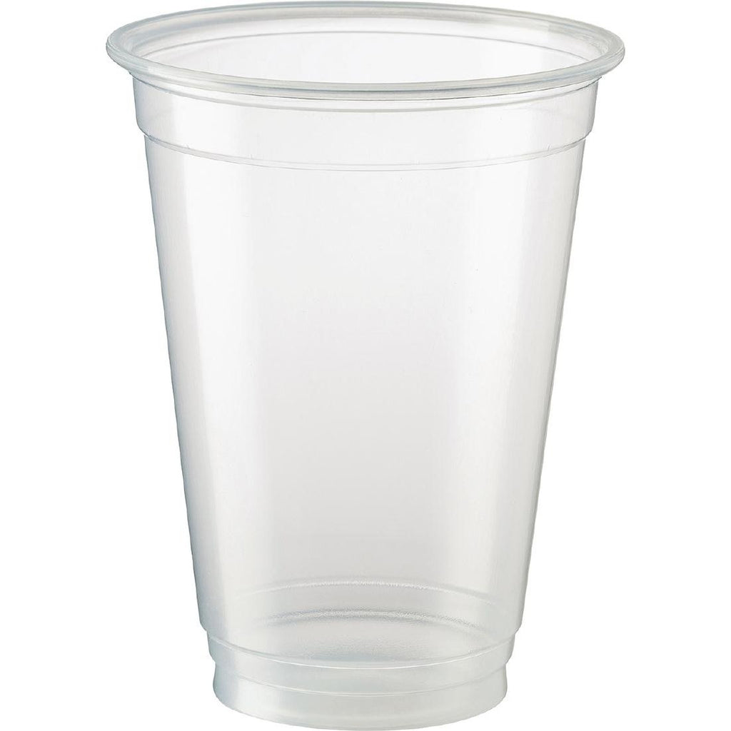 50PCE Castaway Disposable Beer Cups 425ml
