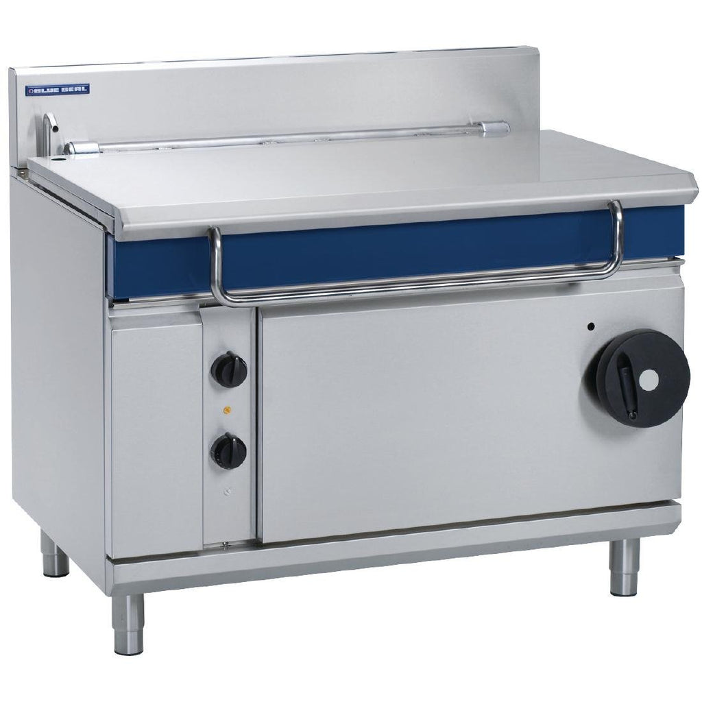 Blue Seal by Moffat 1200mm 120 Ltr Bratt Pan with Manual Tilt NG