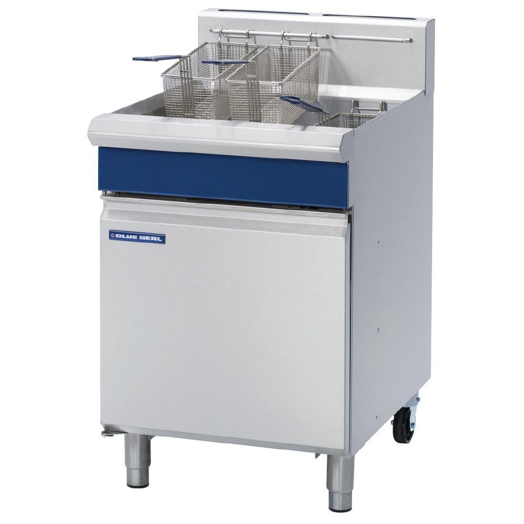 Blue Seal by Moffat 31Ltr Single Pan VeeRay Deep Fryer with Mechanical Controls