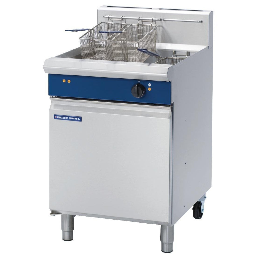 Blue Seal by Moffat 31 Ltr Single Pan VeeRay Deep Fryer Mechanical Controls NG