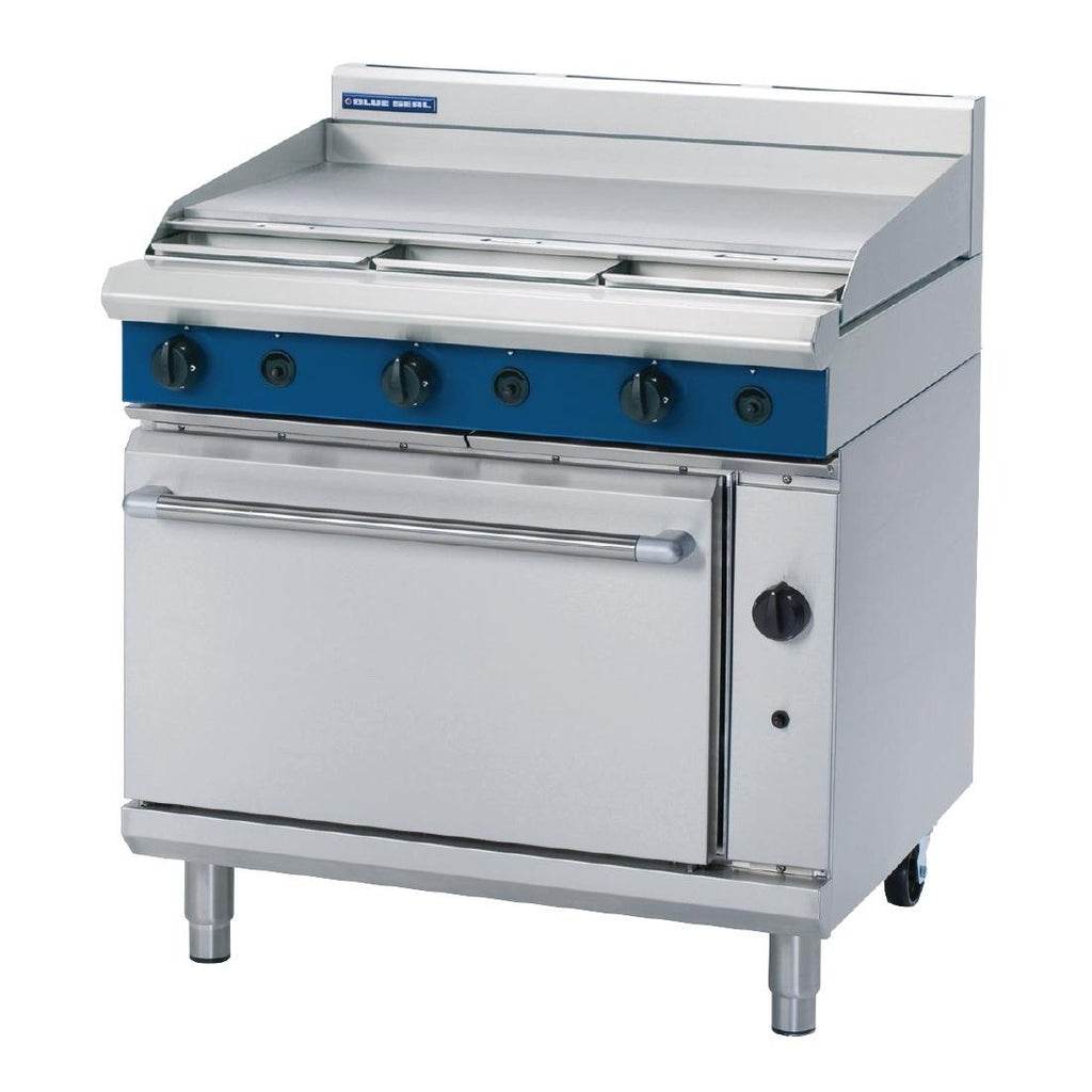 Blue Seal by Moffat 900mm Oven Range with Griddle G506A LPG