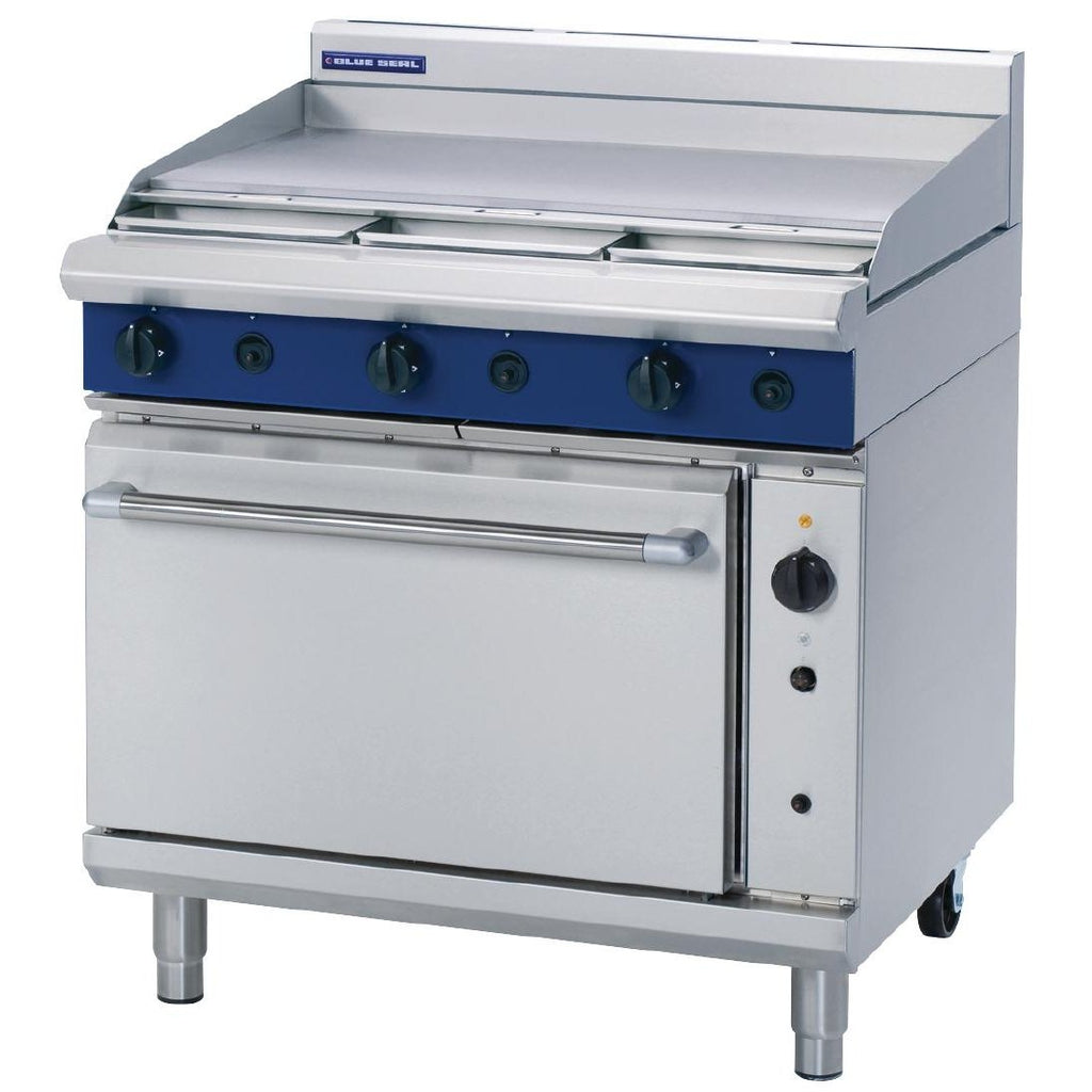 Blue Seal by Moffat 900mm Convection Oven Range with Griddle LPG G56A