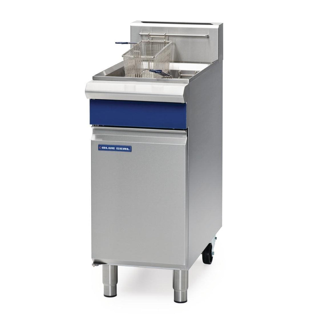 Blue Seal by Moffat Evolution Series 400mm Single Pan Fryer NG