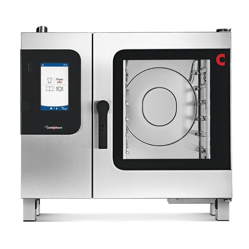 Convotherm by Moffat 4 Seven Tray Combi Oven Direct Steam with easyTouch, Food Smoking Function Electric - ICE Group