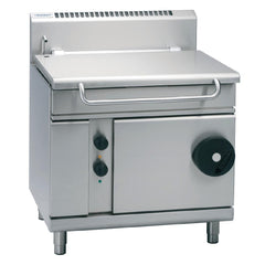 Waldorf by Moffat 900mm 80 Ltr Bratt Pan with Manual Tilt LPG BP8080G - icegroup hospitality superstore