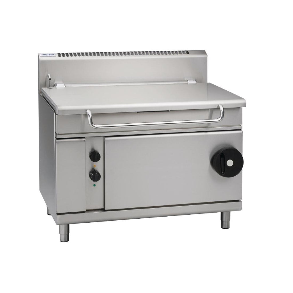 Waldorf by Moffat 1200mm 120 Ltr Bratt Pan with Manual Tilt LPG