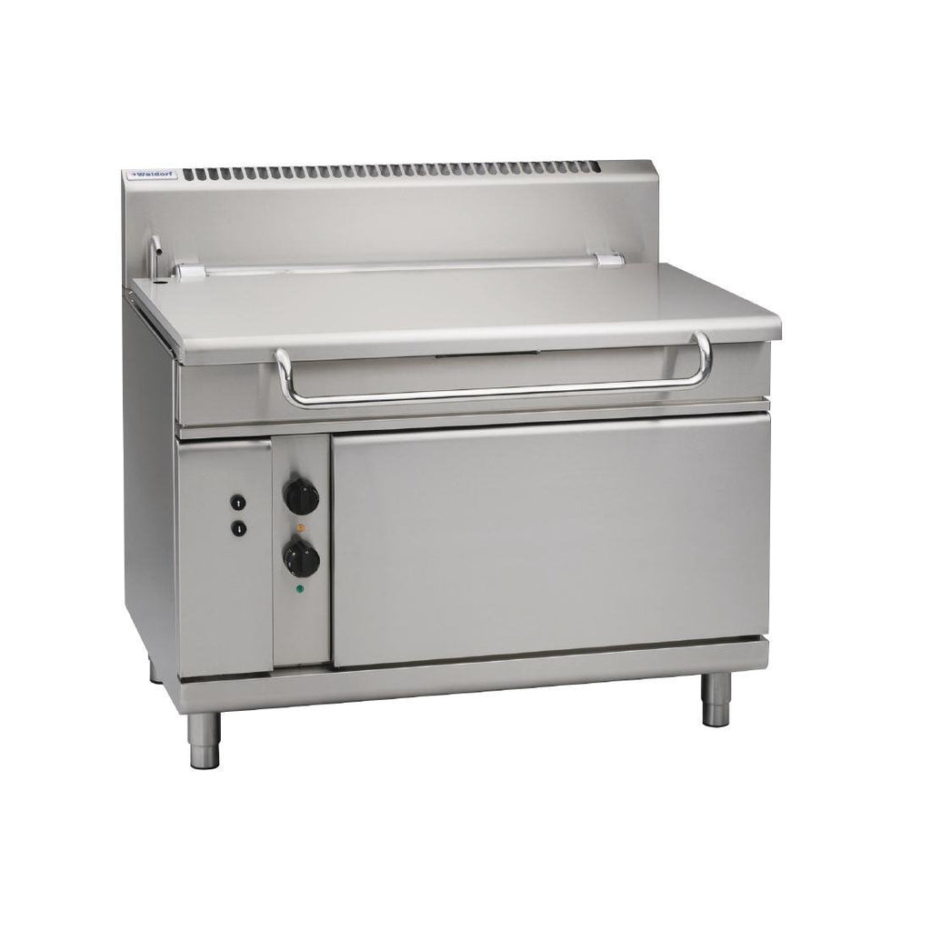 Waldorf by Moffat 1200mm 120L Bratt Pan with Electric Tilt NG