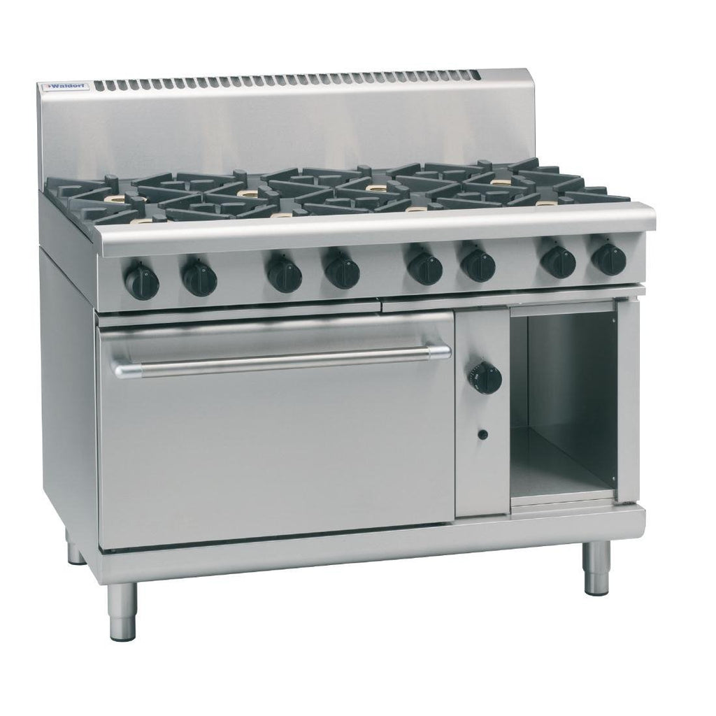 Waldorf by Moffat 1200mm Oven Range with 8 Burners NG RN8810G